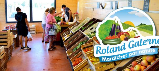 La boutique de fruits et légumes Roland Galerne